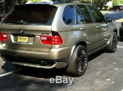 4.8is Bodykit for BMW X5 E53 Body Kit Tuning Spoiler Front and rear bumper lip