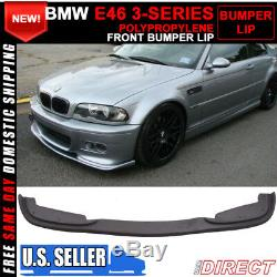 99-06 BMW E46 3 Series H Style Front Bumper Lip For M Bumpers Only PP