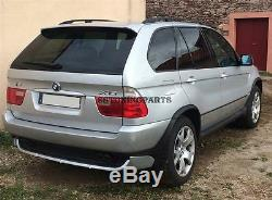 Bmw E53 X5 2000-2006 Front Spoiler And Rear Spoiler Tuning Kit 4.8is Style