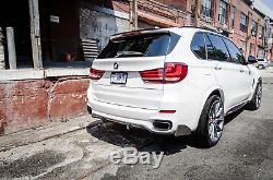 Bmw X5 F15 Performance Front Bumper Spoiler + Rear Diffuser Body Kit
