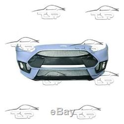 Complete Body Kit For Ford Focus Mk3 Rs Look 14-17 Bumpers Grill Spoiler