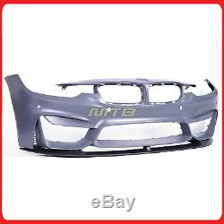 F80 M3 Style Front Bumper Kit PDC For BMW F30 F31 3-Series 12-18 Performance Lip
