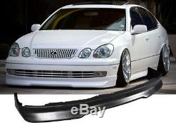 Fit 98-03 Gs300 Gs400 Front Bumper Lip Gd Pu Apron Spoiler Valence Chin Body Kit