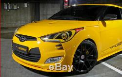 Fit For 2012-2017 Hyundai Veloster OE Style Front Bumper Lip Body Kit