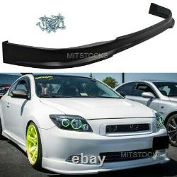 Fits 05-10 Scion tC RS Style Front Bumper Lip Spoiler ADD-ON Body Kit PU