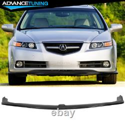Fits 07-08 Acura TL Type S CS Style Front Bumper Lip PU