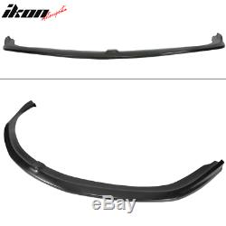 Fits 07-08 Acura TL Type S CS Style Front Bumper Lip Unpainted PU Polyurethane