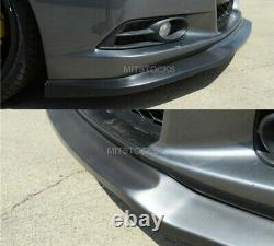 Fits 12-13 Civic 2 Door Coupe IKON Style Front Bumper Lip Spoiler Body Kit PU