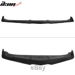 Fits 14-15 Chevy Camaro SS Ikon Style Front Bumper Lip Unpainted PP
