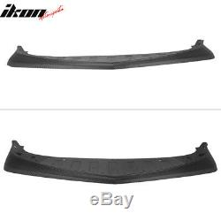 Fits 14-15 Chevy Camaro Z28 Style Front Bumper Lip Carbon Fiber Textured Look