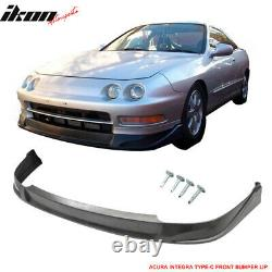 Fits 94-97 Acura Integra 2Dr Coupe CONCEPT Style Front + Rear Bumper Lip PU