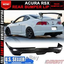 For 02-04 Acura RSX Coupe 2Dr Mugen Style PU Rear Bumper Lip Spoiler Bodykit