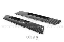 For 09-15 Cadillac CTS-V Coupe GM Factory CARBON FIBER Rear Bumper Insert Cover