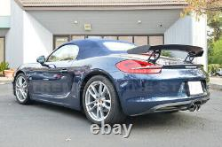 For 13-16 Porsche 981 Boxster GT4 Style ABS Plastic Rear Trunk Wing Spoiler