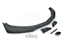 For 19-Up Camaro RS & SS ZL1 1LE Style Front Lip Splitter & Side Skirts Panel