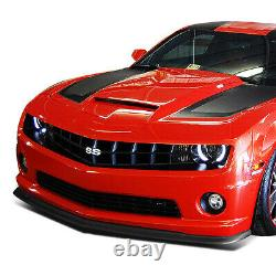 For 2010-2013 Chevy Camaro Zl1 Style Front Bumper Chin Lip Spoiler Wing Body Kit