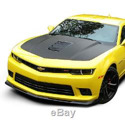 For 2014-2015 Chevy Camaro 1le Style Abs Front Bumper Lip Spoiler Wing Body Kit