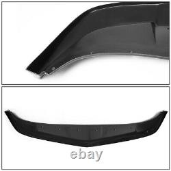 For 2014-2015 Chevy Camaro A-style Front Bumper Chin Lip Spoiler Wing Body Kit