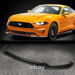 For 2015-2017 Ford Mustang Oe Gt Style Front Bumper Lip Lower Spoiler Body Kit
