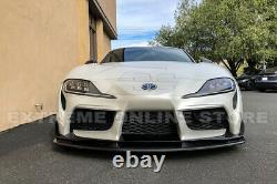 For 20-Up Toyota GR Supra A90 AS Style CARBON FIBER Front Bumper Lip Splitter