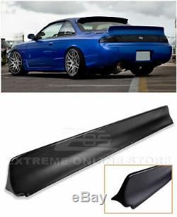For 95-98 Nissan 240SX S14 EOS RB Style JDM Rear Truck Lid Wing Spoiler Kit