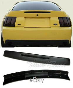 For 99-04 Ford Mustang Rear Wing Trunk Spoiler with Brake Light Insert CBR Style