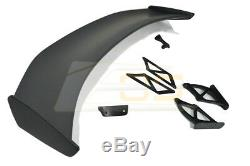 GT4 Extended Style Rear Trunk Wing Spoiler For 13-16 Porsche 981 Cayman Boxster