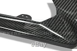IMPERFECT For 16-Up Cadillac ATS-V CARBON Package Front Bumper Splitter Lip Kit