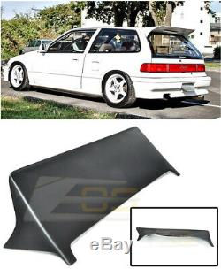 J's Style FRP Rear Roof Spoiler Wing Body Kit For 88-91 Civic 3Dr Hatchback JDM