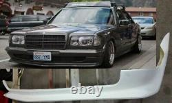 Mercedes Benz w126 bumper spoiler AMG replica front, body Kit Available