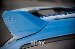 RS Style ABS Plastic Rear Roof Top Wing Spoiler For 13-Up Ford Focus Hatchback