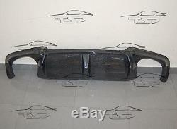 Rear Carbon Diffuser Lip For Bmw F10 M5 From 2010 Bumper Spoiler Body Kit New