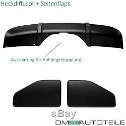 Sport-Performance Aero Spoiler Bumper Kit Black Matt fits on BMW X5 F15 M-Sport