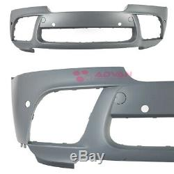 X6M Style Front Bumper with Performance Lip For 2008-2014 BMW X6 E71