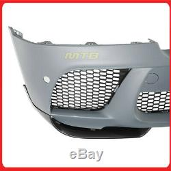 X6-M Conversion Front Bumper with Performance Splitter For BMW X6 E71 2008-2014