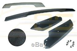 Z06 Stage 3 Carbon Front Lip + Side Skirts & Rear Spoiler For 14-19 Corvette C7